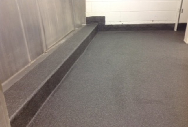 RNA Showgrounds with ceramic and epoxy flooring