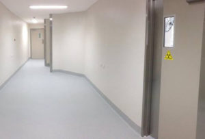 Wesley Hospital Renovations with Vinyl Flooring and Walls