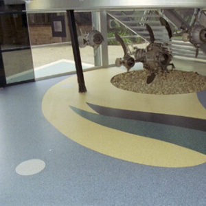 Vinyl flooring example by Surface Archetypes